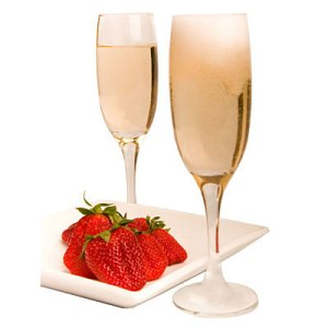 strawberries__champagne