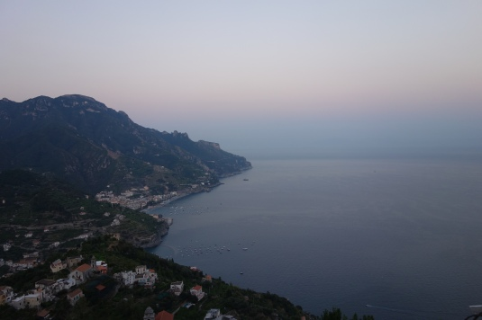 Sunset on the Amalfi Coast